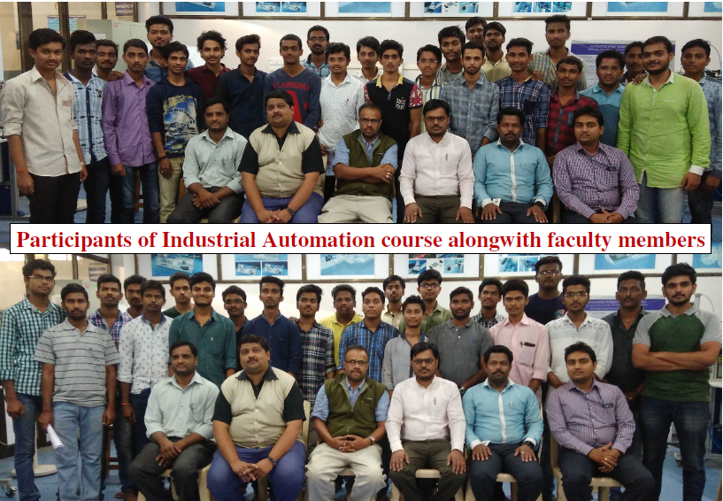 Industrial Automation training at BOSCH Rexroth Lab