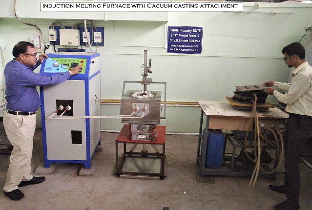 Vacuum molding and Induction melting Autopouring1